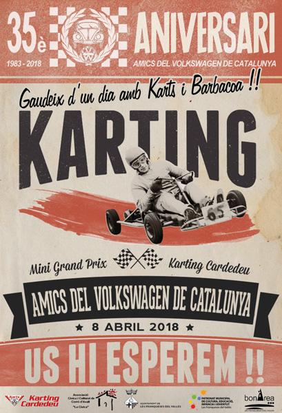 Concentración 35º Aniversario Amics del Volkswagen de Catalunya - 7 y 8 de abril Karting-petit